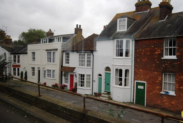 Town Houses off the A268, Rye