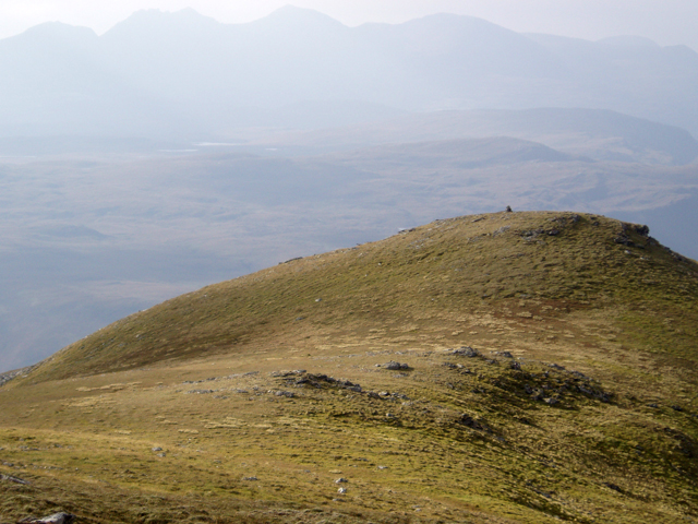Western top of Beinn Enaiglair