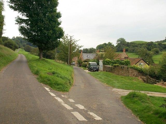 Road junction, Chiselborough