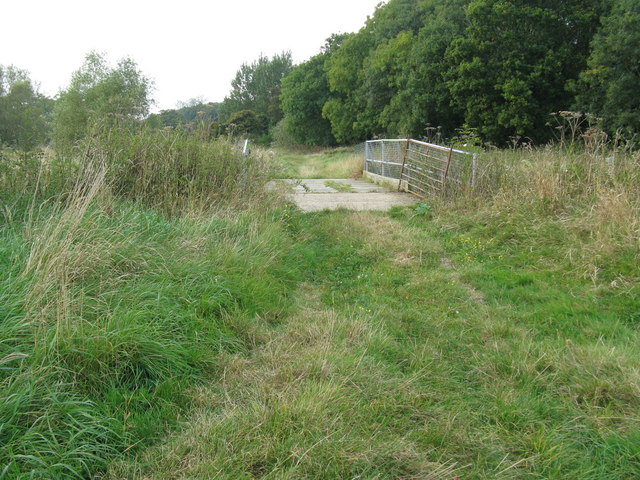 Farm bridge over the River Adur