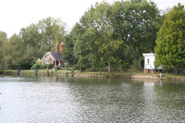 Fishing on the bank