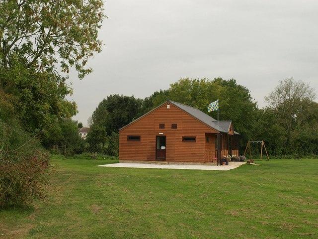 New pavilion, West Chinnock