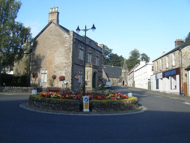 Roundabout, Dunblane.