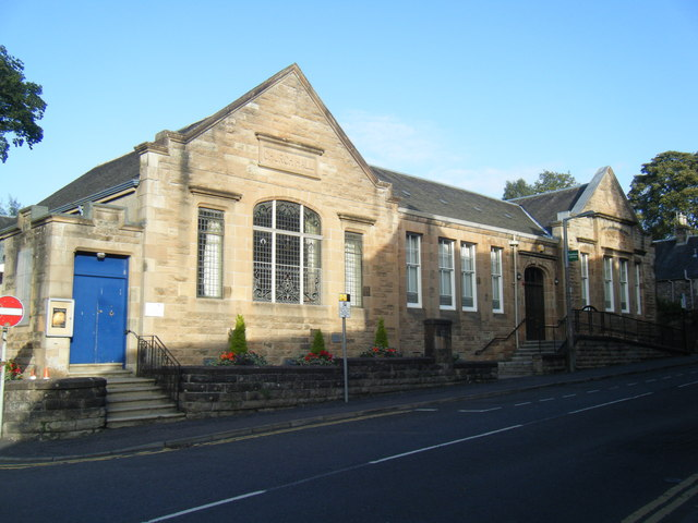 Dunblane Library.
