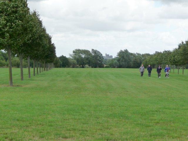 The Arboretum at Eton College Rowing Lake,Dorney