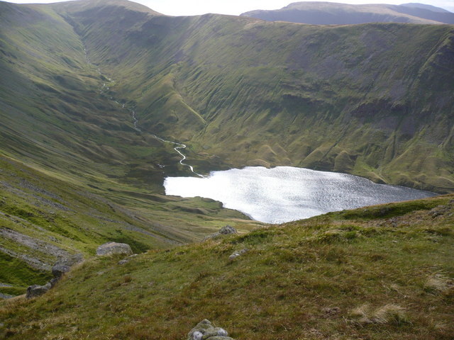Hayeswater from Brock Crags
