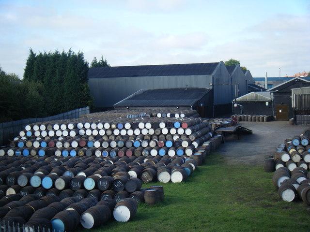 Burn Stewart Distillery, Airdrie.