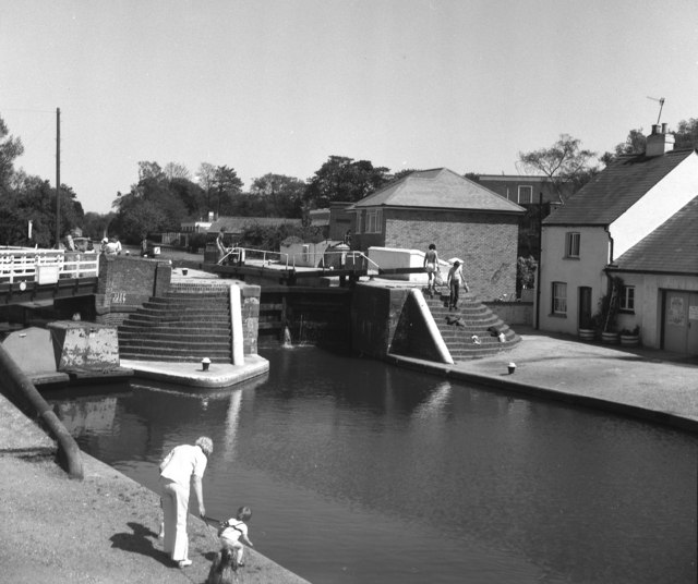 Batchworth Lock No 81, Grand Union Canal