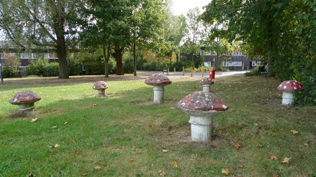 Toadstools, Beanhill, Milton Keynes.