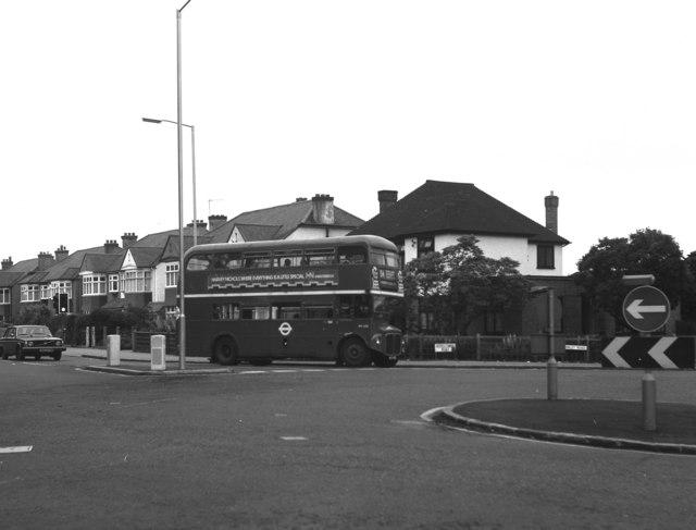 Routemaster at Shirley Park