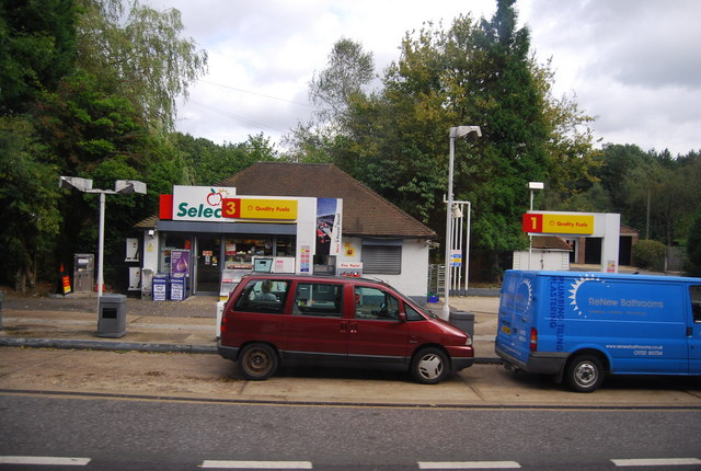 Petrol Station , A21