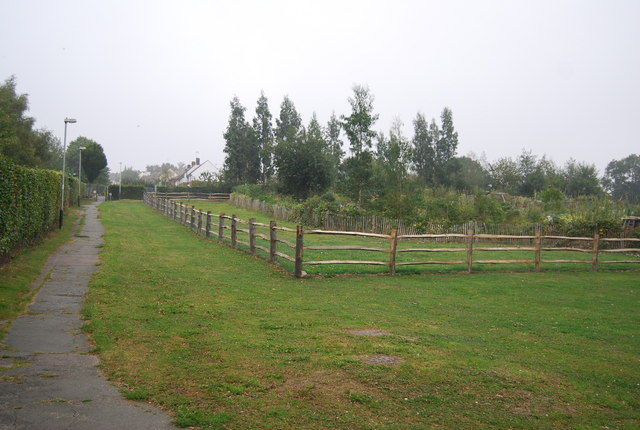 New Dog Walking Area, by the Allotments, Lakeman Way