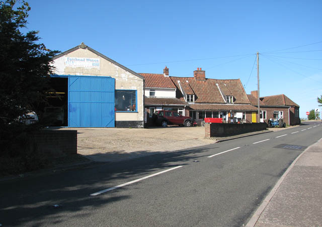 Garage in Yarmouth Road