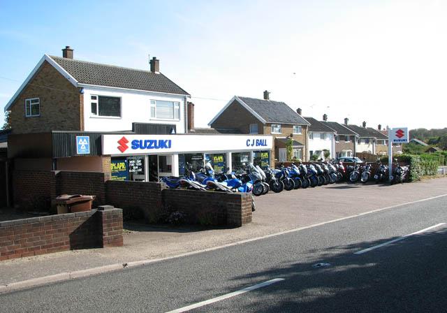 Suzuki dealership in Yarmouth Road