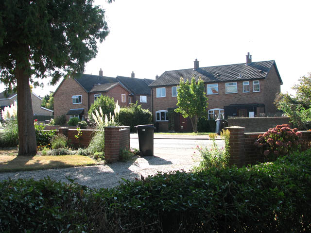 Houses in Yarmouth Road (B1136)