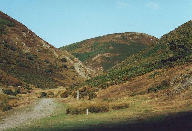 Carding Mill Valley near Church Stretton, Shropshire