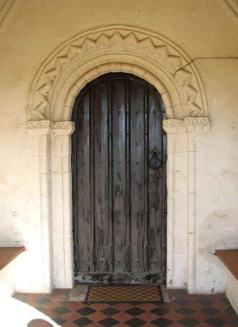 St Margaret's church - the Norman doorway