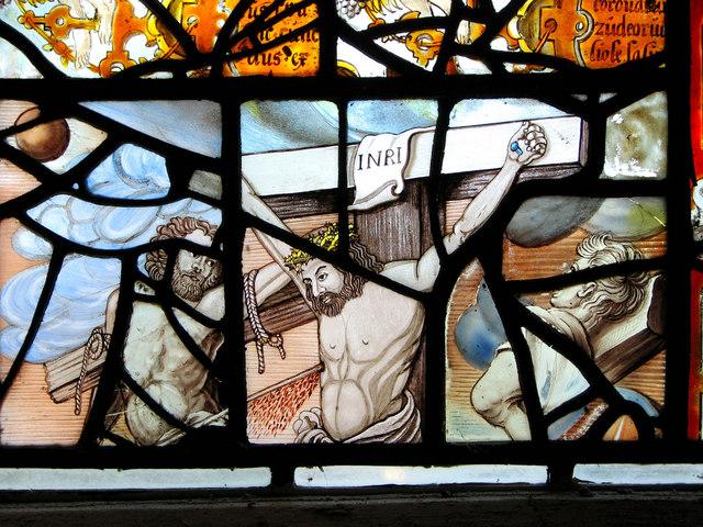 St Margaret's church - east window (detail)