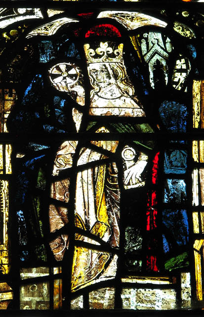 St Margaret's church - medieval stained glass