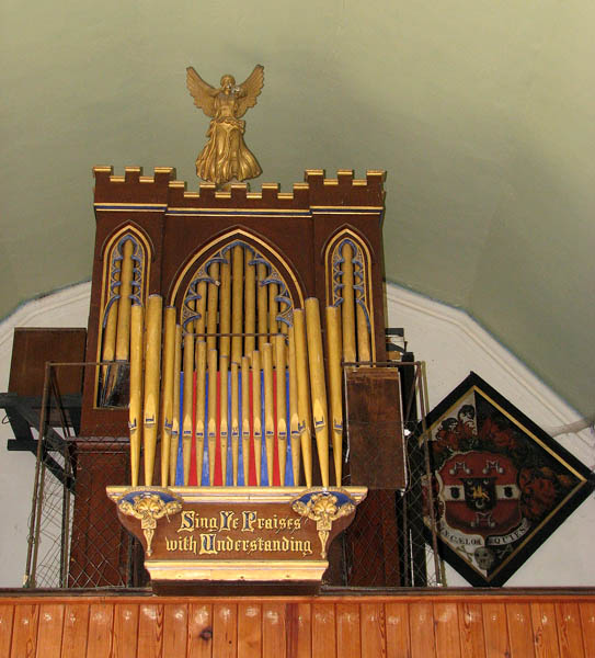 St Margaret's church - the organ