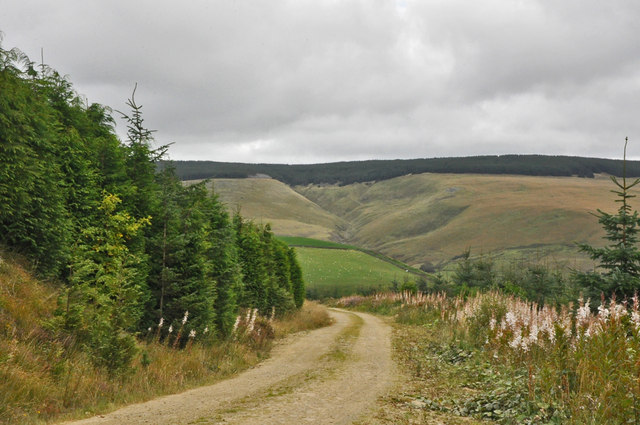 Across the valley - Glyncorrwg