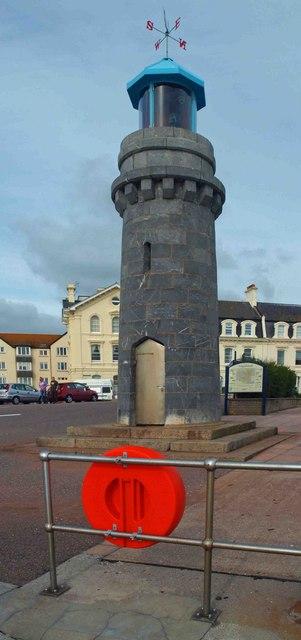 Teignmouth lighthouse