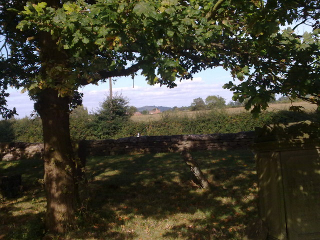 Looking towards Little Haresfield from Standish Church
