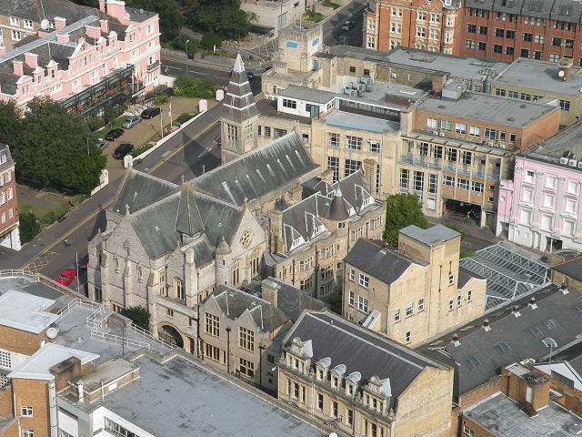 Views from the Eye (8) - Sacred Heart RC Church