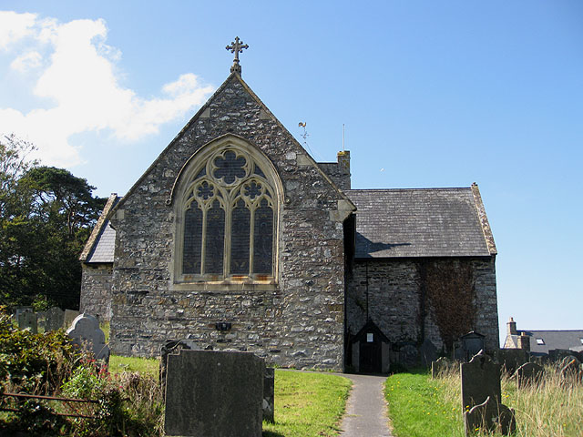 East end of St Mary's, Trefdraeth/Newport