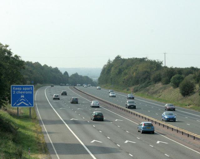 2009 : M4 Motorway westbound