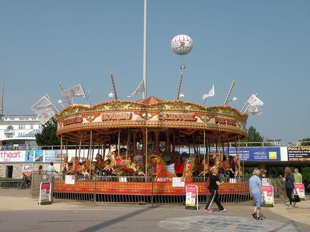 Galloping Horses Carousel
