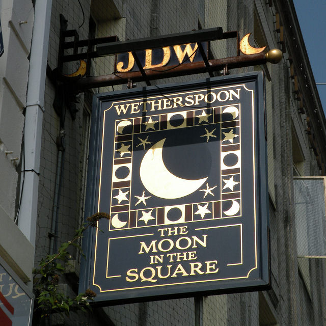 The Sign of The Moon in the Square