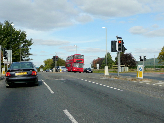 Crossroads on the A435 Evesham Road