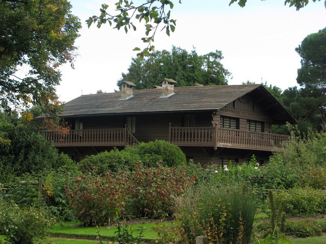 Swiss Cottage in the grounds of Osborne House