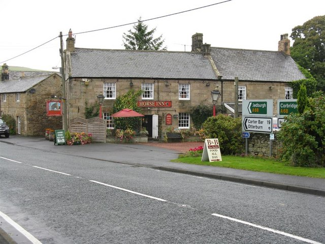 The Bay Horse Inn at West Woodburn
