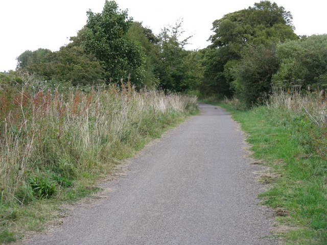 NCN path at Rowley
