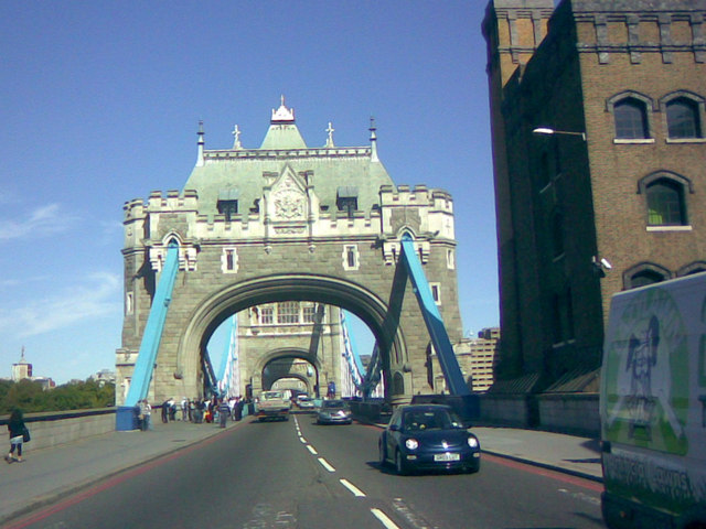 Tower Bridge arches