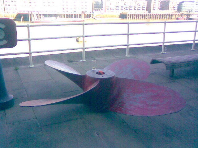 Propeller on the South Bank