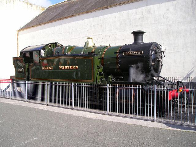 Goliath at Paignton Station