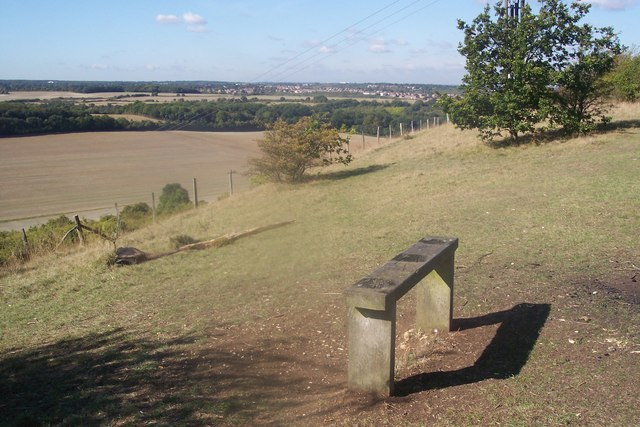 Bench on Darland Banks