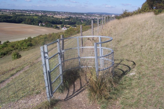 Kissing Gate on Darland Banks
