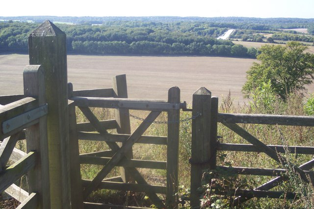 Kissing Gate Entrance to Darland Banks Nature Reserve