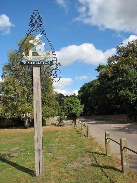 Somerleyton - village sign