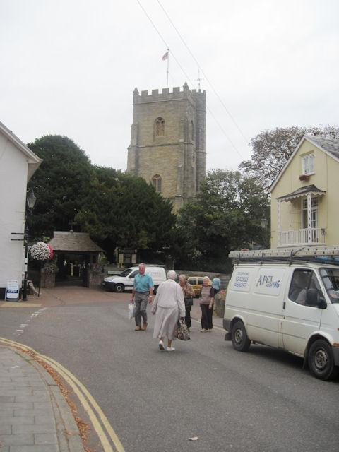 Church at Sidmouth