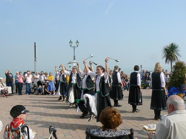Morris dancers at Deal
