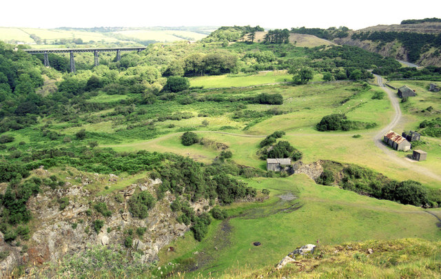 Site of quarry at Meldon