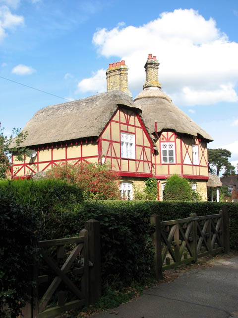 Cottages in Somerleyton