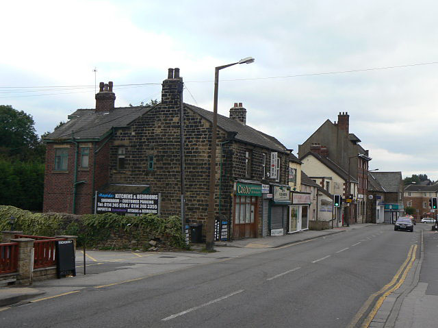 Station Road, Chapeltown