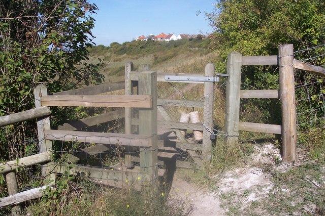 Kissing Gate in Darland Banks