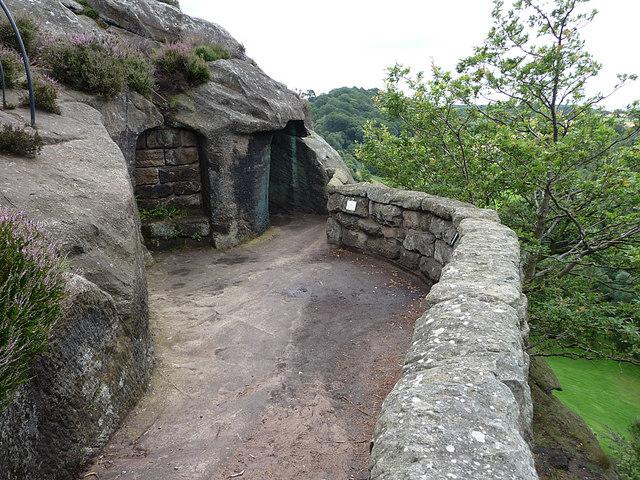 The Grotto entrance, Hawkstone Park